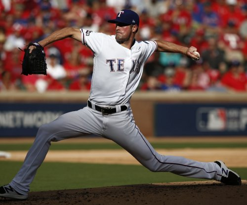 Rangers start four-game series with rival Astros