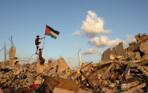$5.4 billion pledged to Palestinians to rebuild Gaza