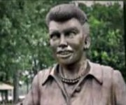 'Scary' Lucille Ball sculptor apologizes, says he will replace it for free