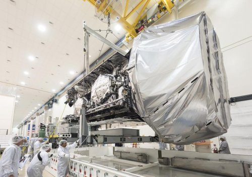 Fourth MUOS arrives in Florida for August launch