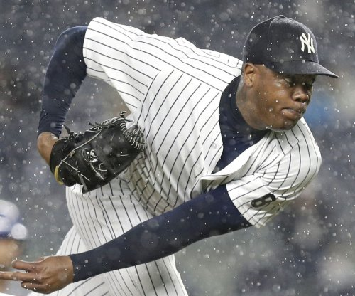 Yankees' land Cubs' top prospect in Aroldis Chapman trade