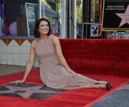 Mandy Moore gets a star on the Hollywood Walk of Fame