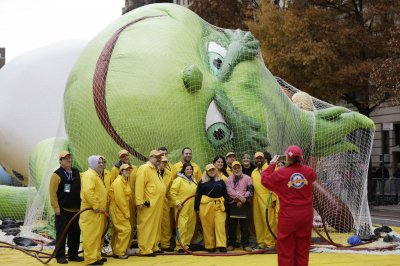 Decision for balloons at Macy's Thanksgiving parade coming Thursday