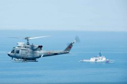 U.S. Coast Guard vessel trains with Turkish ship in Black Sea