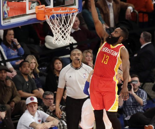 Harden, Houston Rockets hold off Milwaukee Bucks