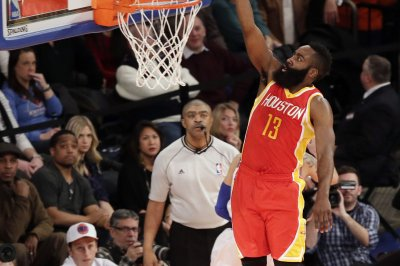 Harden, Houston Rockets hold off Milwaukee Bucks