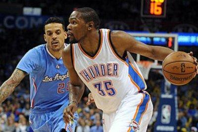 Oklahoma City Thunder send Los Angeles Clippers to 4th straight loss