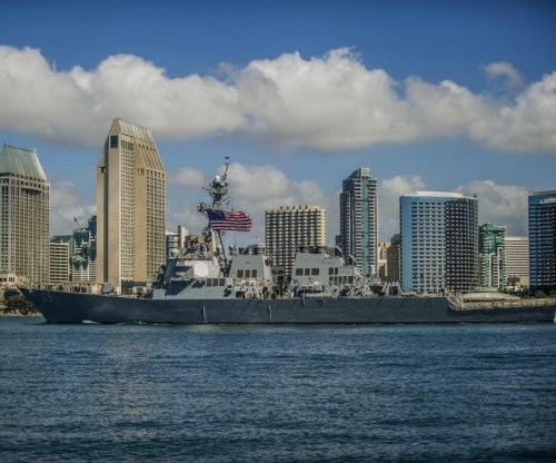 U.S. Navy sends guided-missile destroyer to Japan