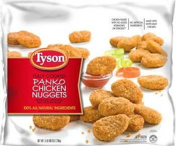Tyson recalls 66 tons of chicken nuggets, citing possible plastic in meat