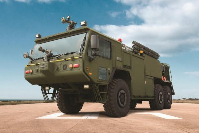 Oshkosh to deliver P-19R firefighting vehicles to Marine Corps