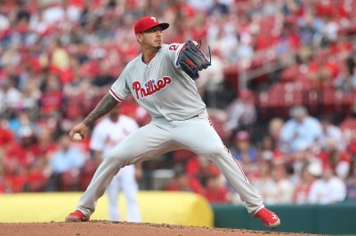 Phillies in danger of being swept by Blue Jays