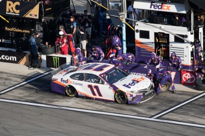 NASCAR iRacing: Denny Hamlin wins virtual race at Homestead