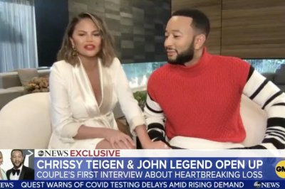Chrissy Teigen, John Legend 'stronger together' after pregnancy loss