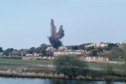Unexploded World War II bomb detonated near British university