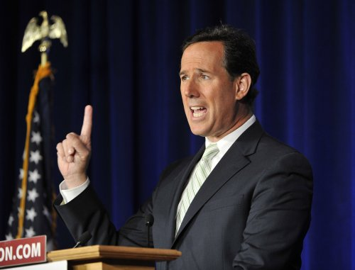 Politics 2012: Romney still must woo conservatives even with Santorum gone