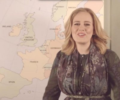 Adele announces plans for European concert tour