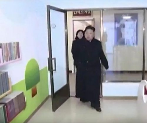 North Korea leader Kim Jong Un seen limping again on state television