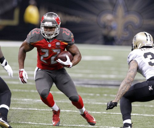 Tampa Bay Buccaneers RB Doug Martin back for workouts after drug rehab treatment