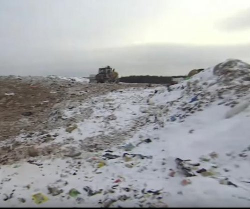 Russian town demands closure of toxic garbage dump