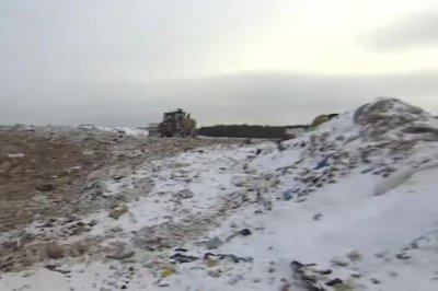 Russian town demands closure of toxic garbage dump