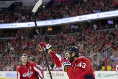 Rangers visit Capitals in game pitting hot teams