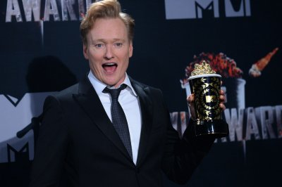 Conan O'Brien tapes show in Greenland