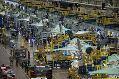 Supply chain issues caused by COVID-19 will slow F-35 production