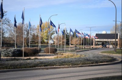 Two airmen die in shooting at Grand Forks Air Force Base