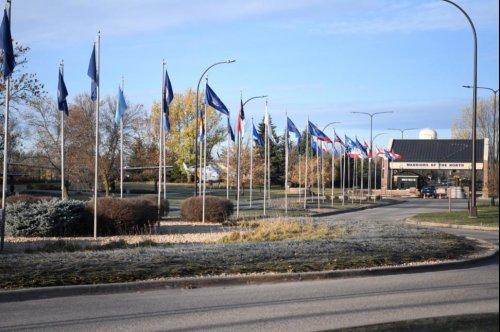 Two airmen die in shooting at Grand Forks Air Force Base