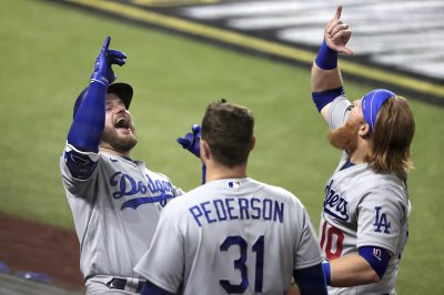World Series: Dodgers top Rays in Game 5, take 3-2 lead