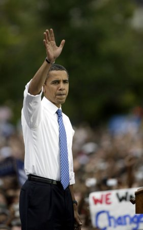 Obama likeness hanged at Oregon college