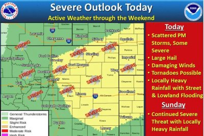 Forecasters predict more severe weather in battered Colorado