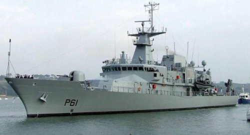 Ireland commissions second offshore patrol vessel