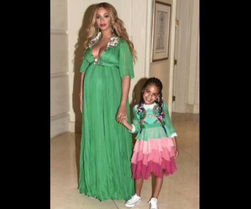 Beyonce shows off matching look with daughter Blue Ivy