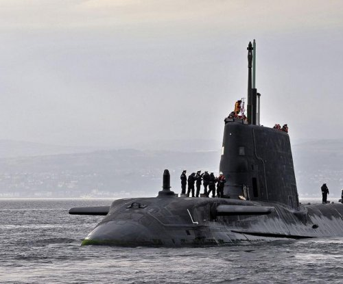 U.K. submarine completes upgrade, training period