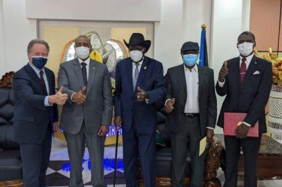 Sudan, rebel group sign agreement paving way for peace