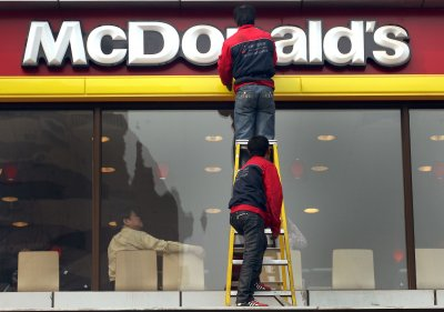McDonald's U.S. sales drop in January due to severe winter weather