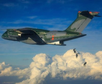 Brazilian air force tests KC-390 transport