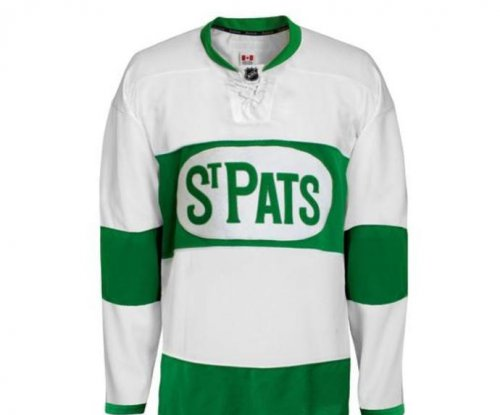 Toronto Maple Leafs unveil retro St. Pats sweaters