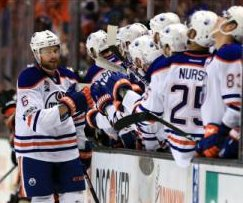 Adam Larsson, Mark Letestu lead Edmonton Oilers past Anaheim Ducks for big road win