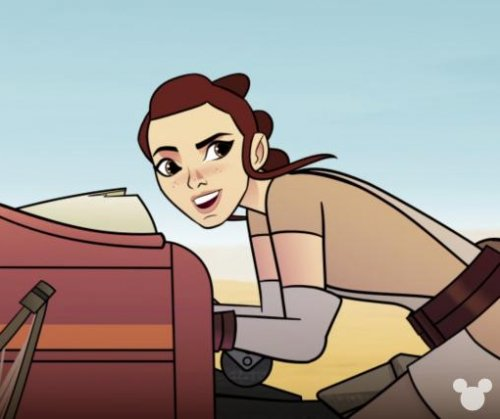Rey, Princess Leia headline 'Star Wars' animated series 'Forces of Destiny'