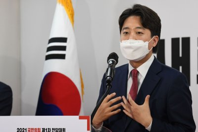 Ex-SM Entertainment trainee jockeying to become spokesman for South Korea's conservatives