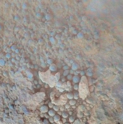 Mars rock coatings puzzle scientists