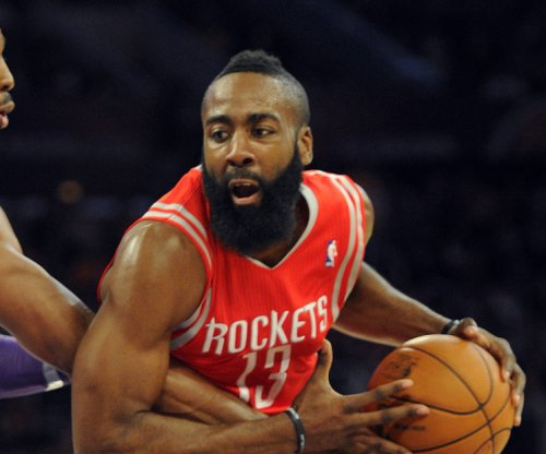 James Harden's 36 points push Houston Rockets past Knicks