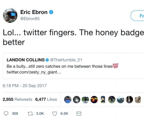 Eric Ebron: Detroit Lions TE has beef with New York Giants star Landon Collins