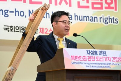 Defector Ji Seong-ho: Leaflets to North Korea should continue