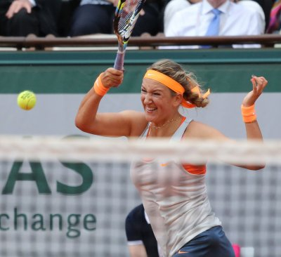 Azarenka up to No. 2 in WTA rankings