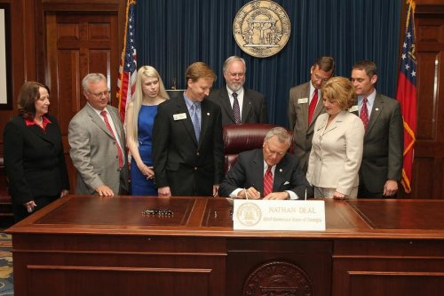 Georgia's Gov. Deal signs 'fetal pain' bill