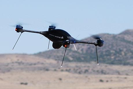 Drones could work together to fight fires