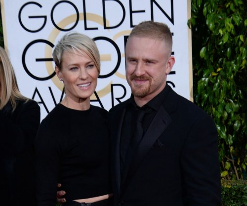 Robin Wright and Ben Foster together at Golden Globes after split